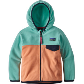 Patagonia Micro D Snap-T Jacket Children green/orange